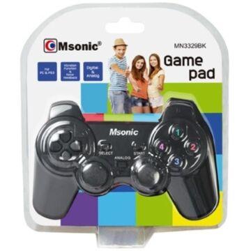 Msonic USB Pc/Ps3, Vibrációs Gamepad