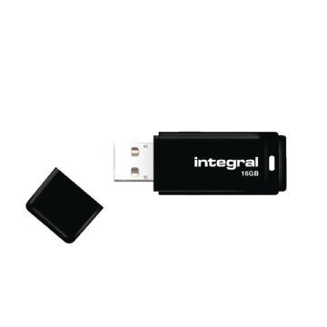 Integral USB 16GB Black 2.0 INFD16GBBLK