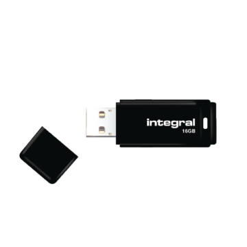 Integral 16GB Pendrive USB 2.0 - Black