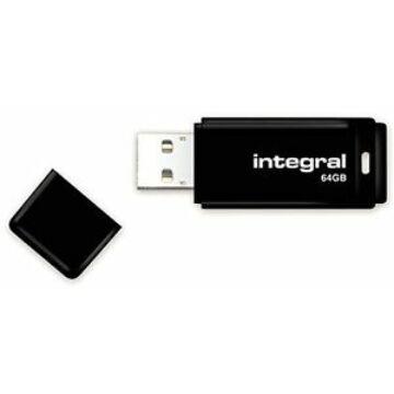Integral 64GB Pendrive USB 2.0 - Black