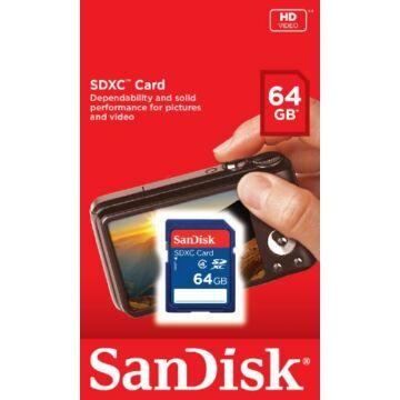 Sandisk memóriakártya SDHC 64GB