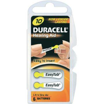 Duracell Pr70 Activair Hallókészülék Elem 6Db