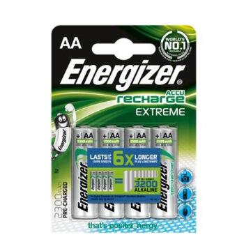 Energizer AA 2300mAh Extreme Akku Tölthetős Elem 4Blister