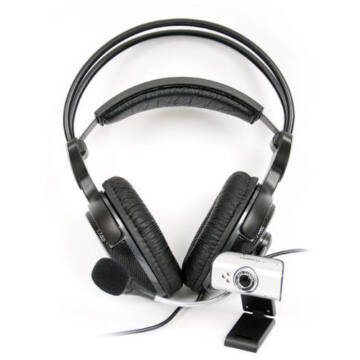 Omega Ouwh68 Web Camera + Hi-Fi Fejhallgató