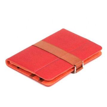 Omega HongKong collekció 7-7,85 tablet tok piros/barna