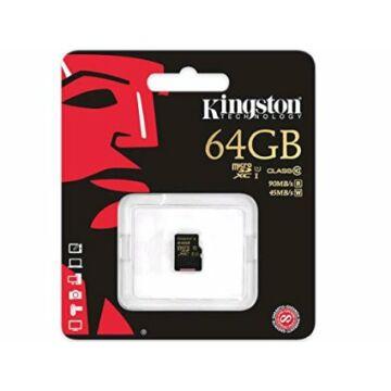 64GB MICROSDXC UHS-I KINGSTON CLASS 10