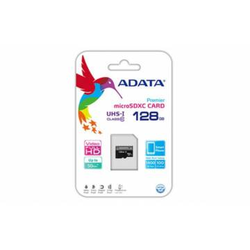 ADATA 128GB MICROSDXC PREMIER UHS-I CLASS 10