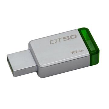 Kingston Dt50 16GB Pendrive USB 3.0 - Zöld (DT50/16GB)