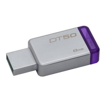 Kingston Dt50 8GB Pendrive USB 3.0 - Lila (DT50/8GB)