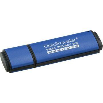 8GB KINGSTON DTVP30 USB 3.0 256BIT AES ENCRYPTED