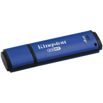 Kingston Dtvp30Av 4GB Pendrive - 256Bit Aes Titkosított + Eset Antivirus - USB 3.0