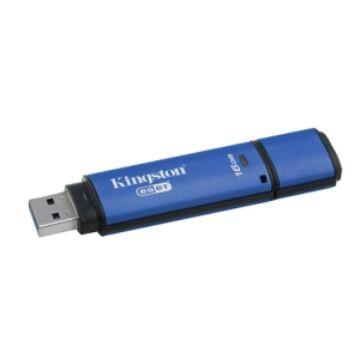 Kingston Dtvp30Av 16GB Pendrive - 256Bit Aes Titkosított + Eset Antivirus - USB 3.0