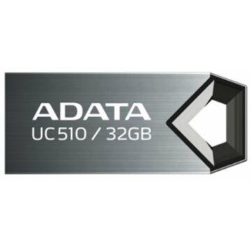 Adata UC510 32GB Pendrive USB 2.0 - Titanium (AUC510-32G-RTI)