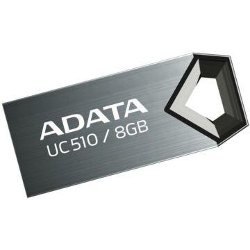 Adata UC510 8GB Pendrive USB 2.0 - Titanium
