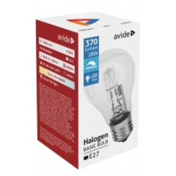 Avide Halogen Classic E27 28W