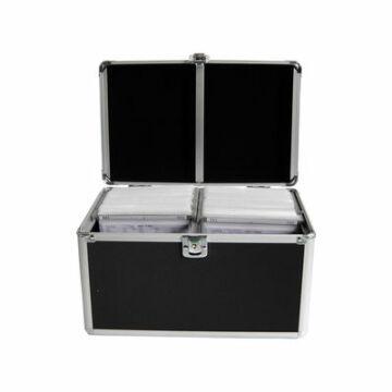 Alu Koffer Mediarange 120db-os Fekete-Box70