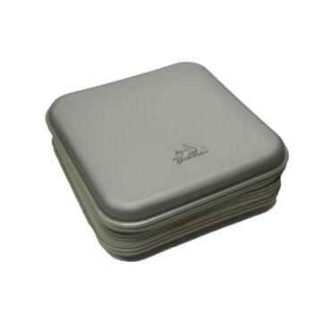 CD-DVD 40 darabos mappa ezüst YD-130S