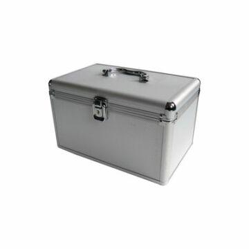 Alu Koffer Mediarange 120db-os Silver-Box70-S