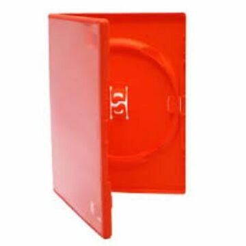 DVD Box Single 14 mm Piros Amaray