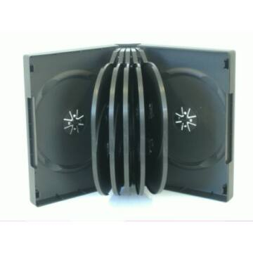 12 DVD Box 39mm Black Colour