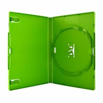 DVD-Box 14mm Single Green Amaray
