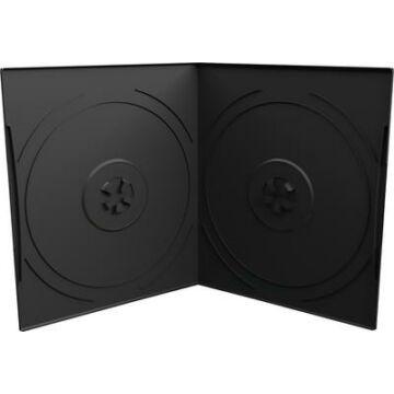 DVD-Box 7mm Double Black Pp