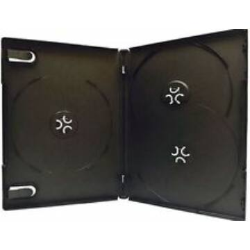 DVD-Box 14mm For 3 Black