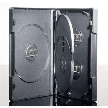5 DVD Box 22 mm Black Colour