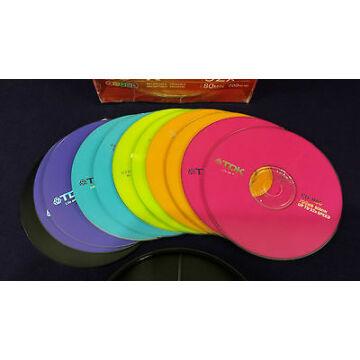 TDK CD-R 52X Colour 700Mb Lemez - Papírtokban (10)