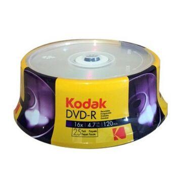Kodak DVD-R 16X 4,7GB Lemez - Cake (25)