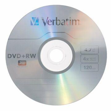 Verbatim DVD-RW 4X Lemez - Papírtokban (10)