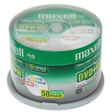 Maxell DVD+R 16X Nyomtatható Lemez - Cake (50)