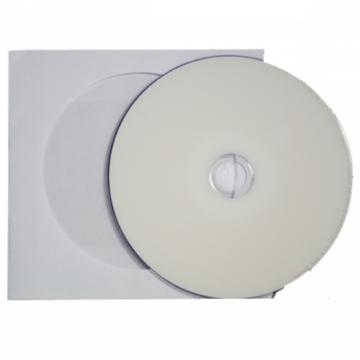 Traxdata DVD+R DL 8X 8,5 gB Teljes Felületén Nyomtatható Lemez - Papírtokban (10)