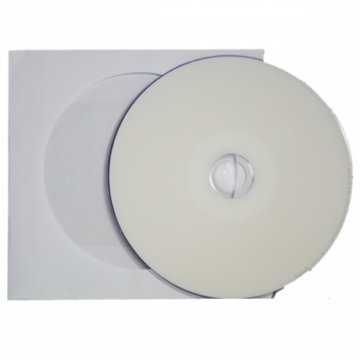 Mediarange DVD-R Nyomtatható Fényes Felületű, Vízálló Lemez - Papírtokban (1)
