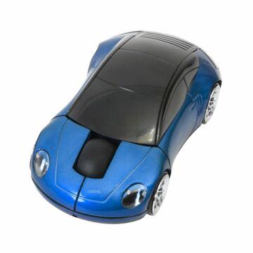 Omega Car OM-300 1200Dpi Vezeték Nélküli Egér Kék 43251