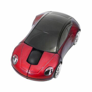 Omega Car OM-300 1200Dpi Vezeték Nélküli Egér Piros 43252