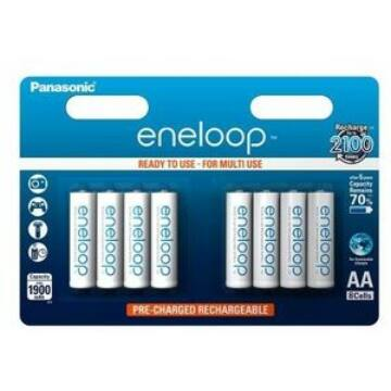 Panasonic Eneloop R6/Aa 1900 mAh (8) Blister