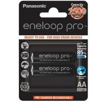 Panasonic Eneloop Pro R6/Aa 2500mAh (2) Blister