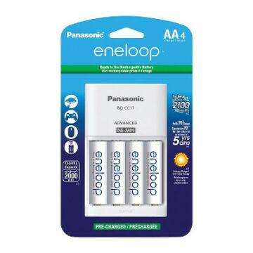 Panasonic Töltő Bq-Cc51 Basic Charger + R6/Aa Eneloop 1900 mAh (4)