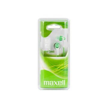 Maxell Colour Canalz Színes Fülhallgató Zöld