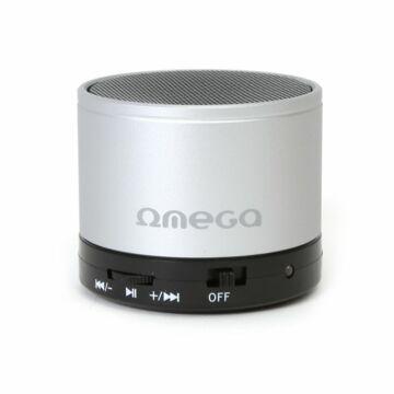 Omega Hangszoró Alu Bluetooth V3.0 Silver [42647]