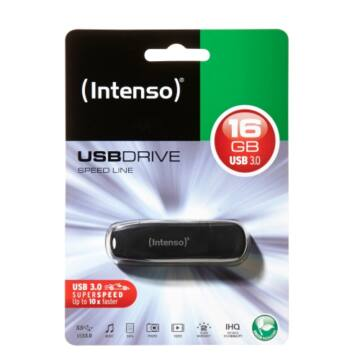 INTENSO USB 16GB SPEED LINE NEU 3.0