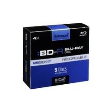 Intenso BD-R 25 gB Blu-Ray Lemez - Normál Tokban (5)