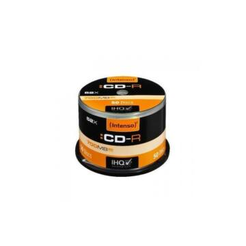 Intenso CD-R 700Mb Lemez - Cake (50)