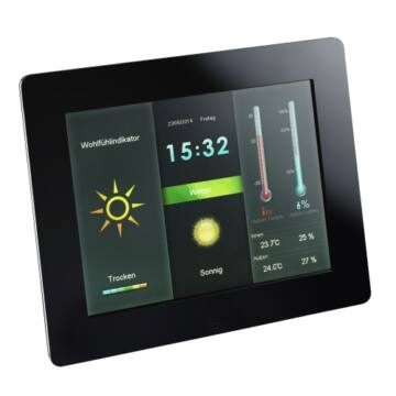 Intenso Digital Photo Frame 8 Weather Star
