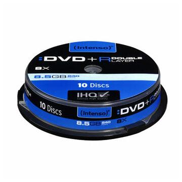 Intenso DVD+Dl 8,5 GB Lemez - Cake (10)