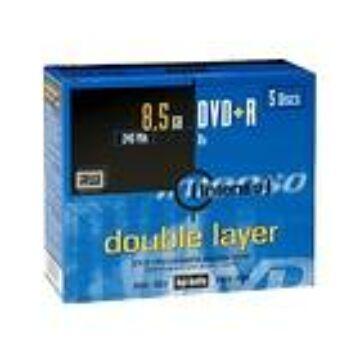Intenso DVD+Dl 8,5 gB Lemez - Normál Tokban (5)