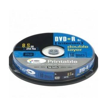 Intenso DVD+Dl 8,5 gB Teljes Felületén Nyomtatható Lemez - Cake (10)