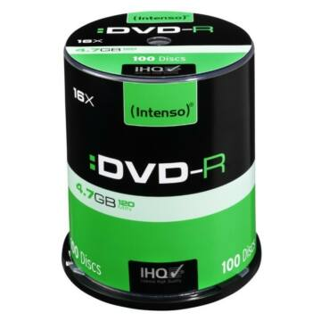 Intenso DVD-R 4,7GB Lemez - Cake (100)