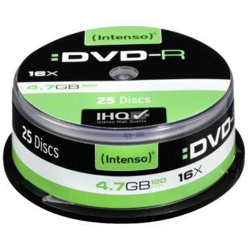 Intenso DVD-R 4,7GB Lemez - Cake (25)